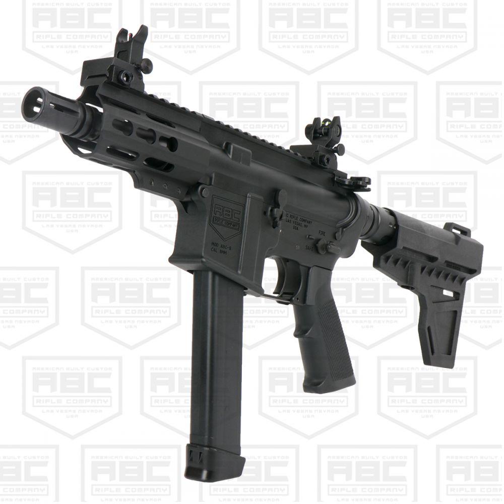 AR 9mm Glock Style Pistol 4