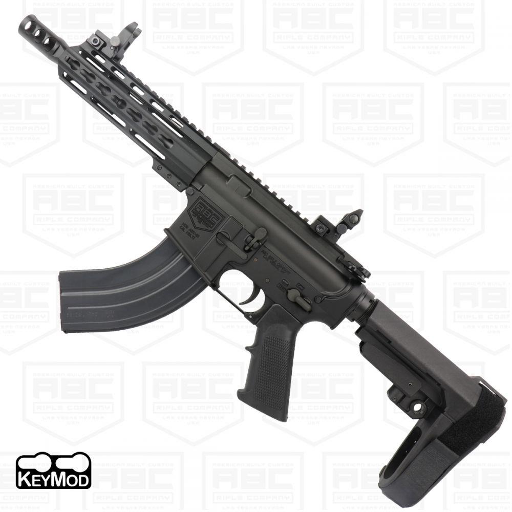 AR-15 SBA3 Style 7 62x39 Pistol 7 5
