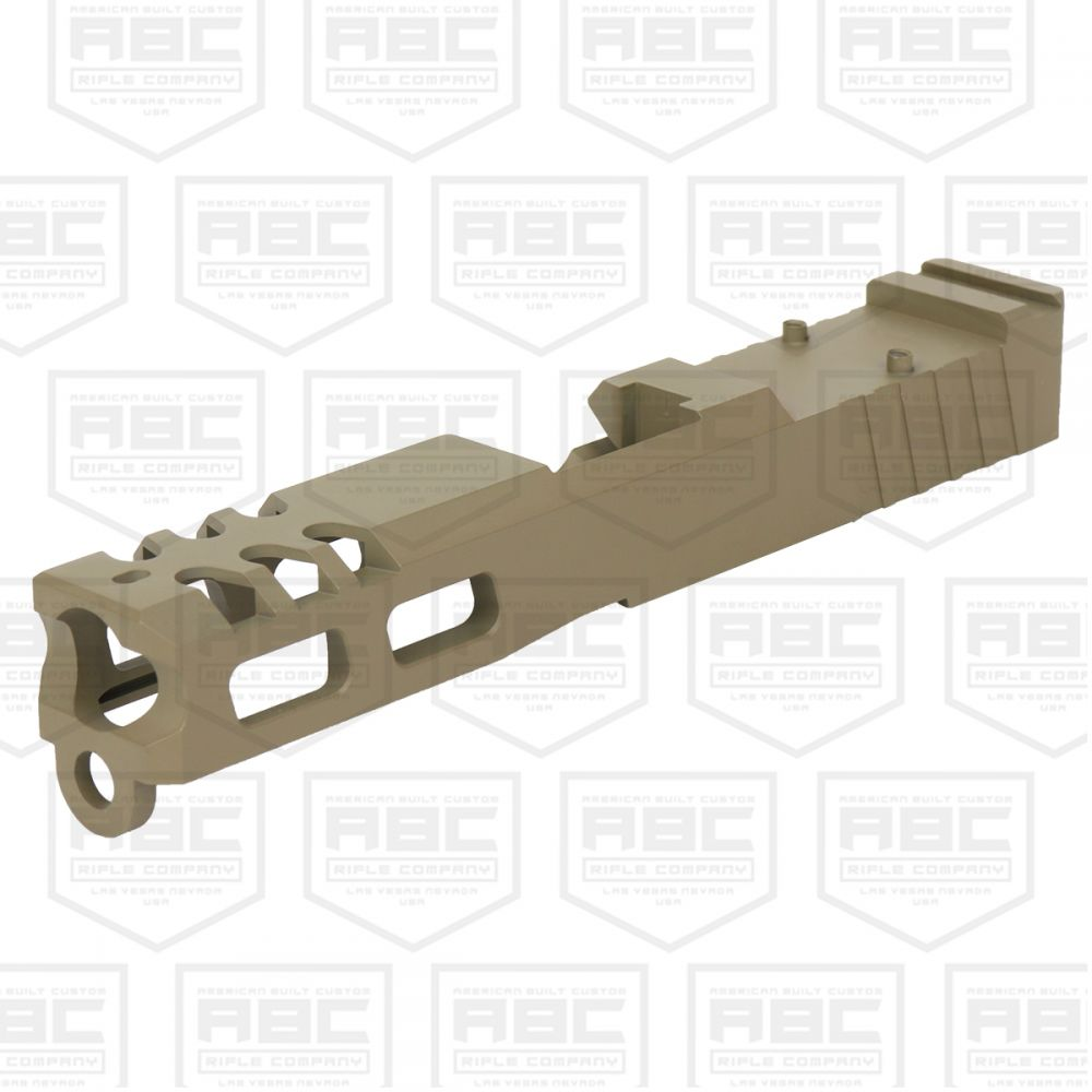 Custom Glock 19 Stripped Slide w/ Trijicon RMR Cut - Cerakote Flat Dark  Earth