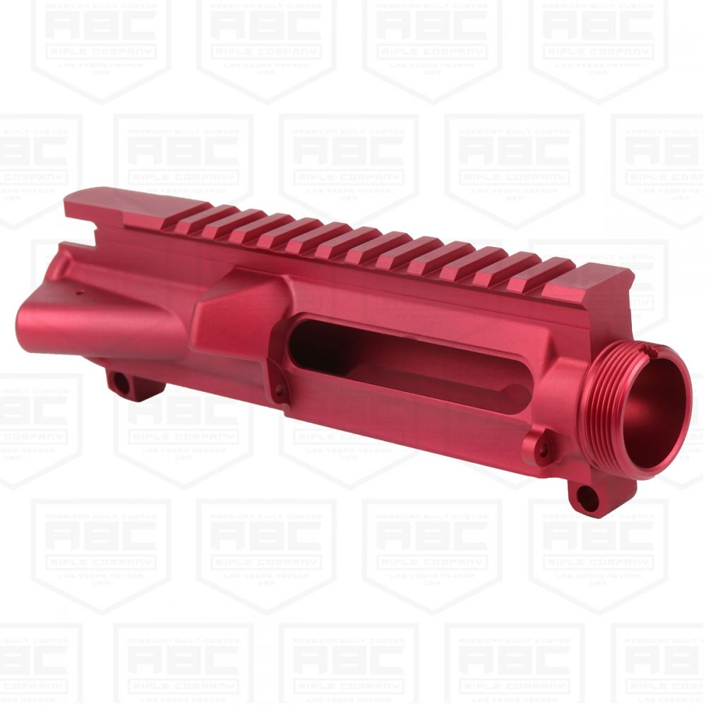 AR-15 Forged Stripped Upper Receiver -Red Anodized