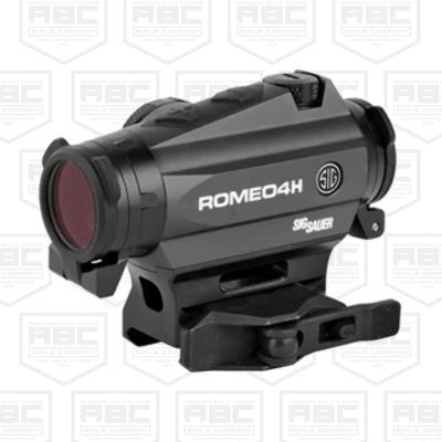 Sig Sauer ROMEO4H Red Dot Motion Activated Illumination Sight w/ Quick-Release Ballistic Circle Plex -Battery Powered